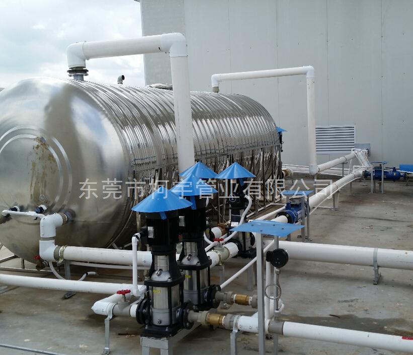 工厂热水工程专用PPR发泡保温管